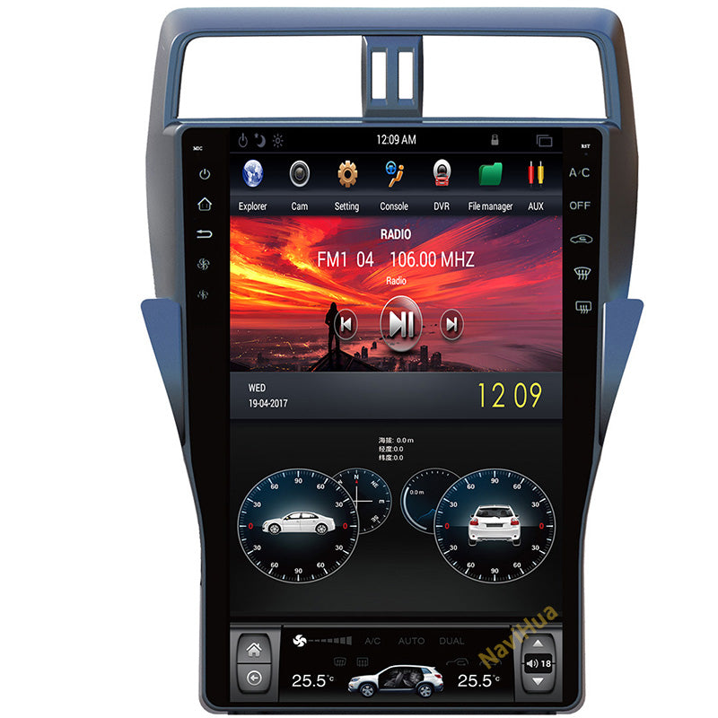 TOYOTA LAND CRUISER TOUCH SCREEN