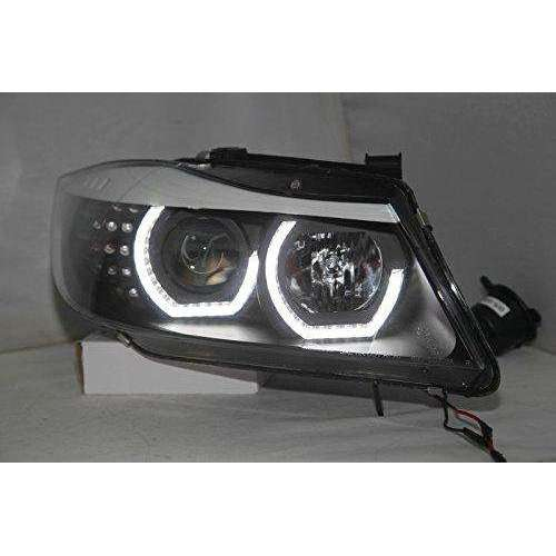 CUSTOM Headlights BMW E90 330I 320I 318i Angel Eyes JY