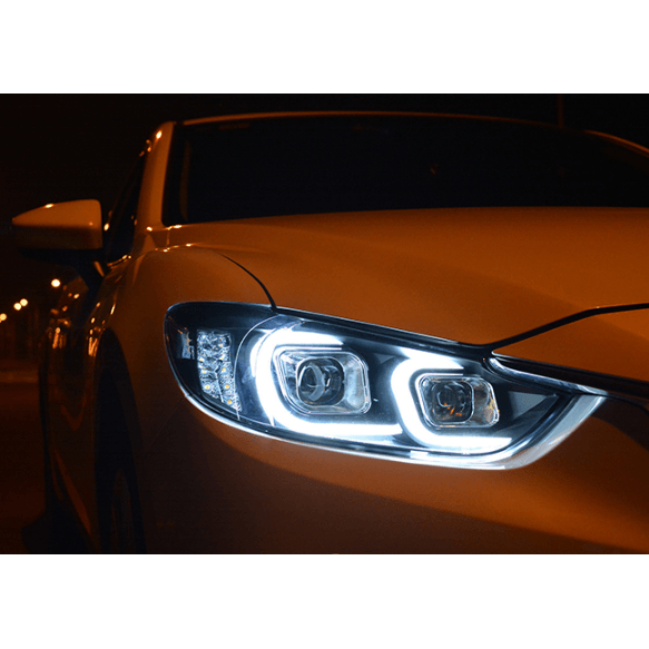 Mazda 6 Angel Look Headlights ( 3 generation )