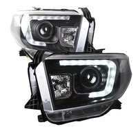 TOYOTA TUNDRA LED HEADLIGHTS BLACK