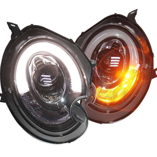 MINI COOPER HEADLIGHTS