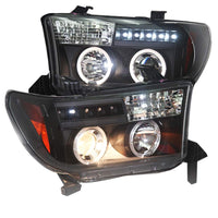 TOYOTA TUNDRA HEADLIGHTS LED BLACK