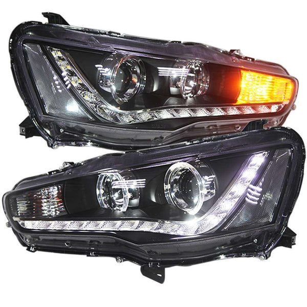 LED Head Lights For Mitsubishi Lancer