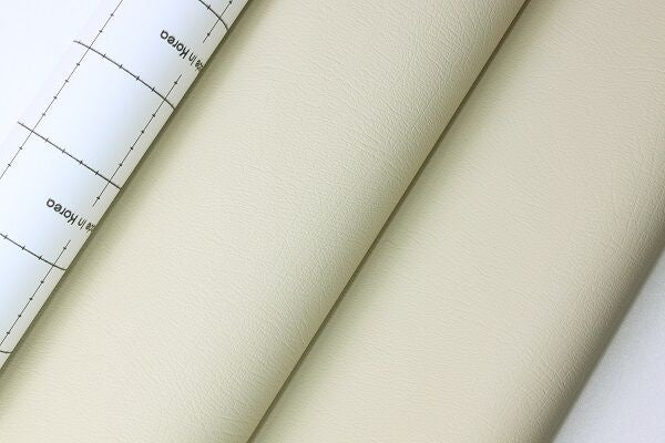 Adhesive Faux Leather - White
