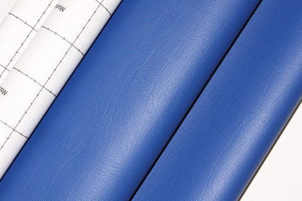 Dashboard Adhesive Faux leather Vinyl Fabric Blue