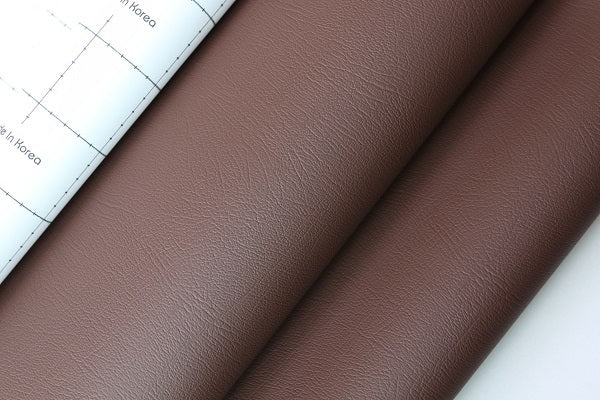 Dashboard Adhesive Faux leather Vinyl Fabric Brown
