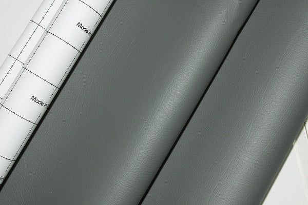 Dashboard Adhesive Faux leather Vinyl Fabric Dark Grey