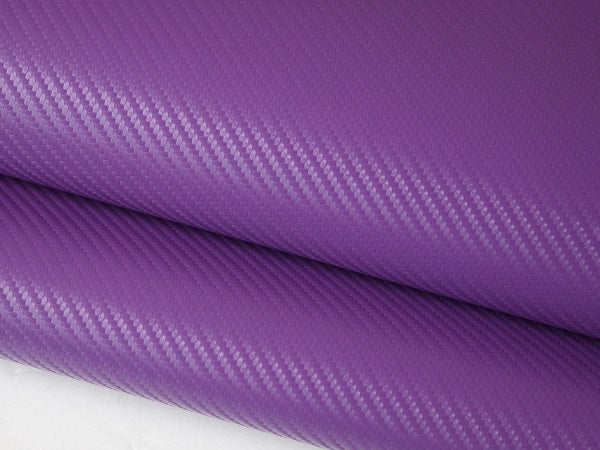 PURPLE CARBON FIBER WRAP 3D