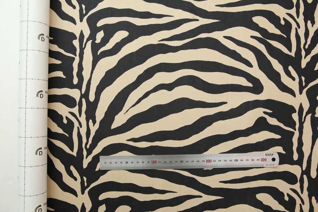 Dashboard Fabric - ZEBRA BEIGE