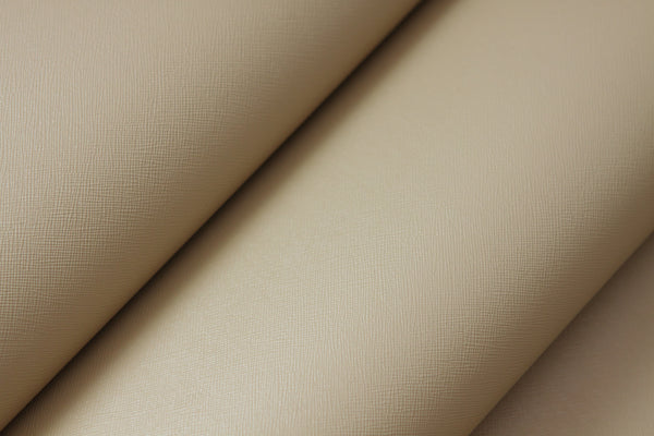 Premium Adhesive Faux leather Vinyl Fabric Beige