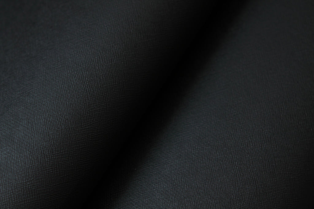 Premium Adhesive Faux leather Vinyl Fabric Black