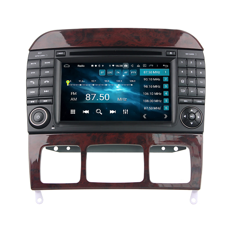 MERCEDES S-CLASS W22O ANDROID TOUCH SCREEN