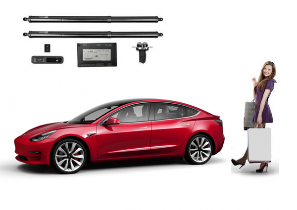 TESLA MODEL 3 ELECTRIC TAILGATE