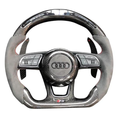 Audi Flat Bottom Steering Wheel