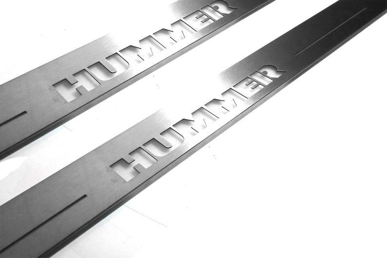 CAR DOOR SILLS FOR HUMMER H2