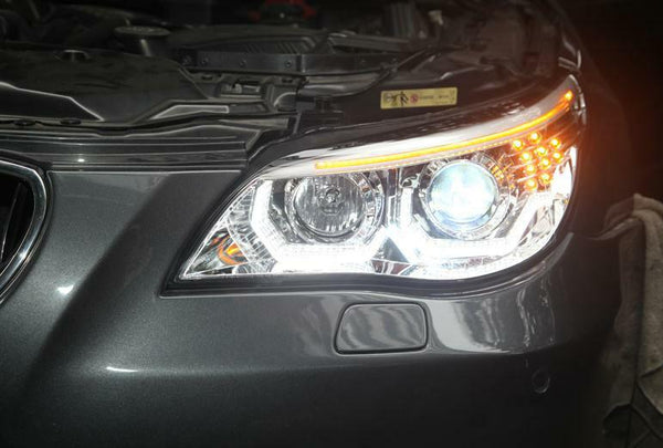 bmw e60 headlights