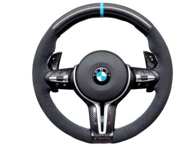 BMW ALCANTARA STEERING WHEEL