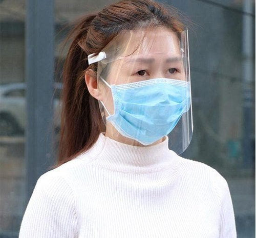 Full-cover anti-droplets face shield