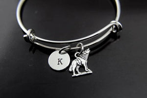 Silver Wolf Charm Bracelet - New Wolves - unique & trendy stuff
