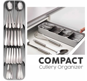 50% OFF - Compact Cutlery Organizer