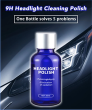 Load image into Gallery viewer, 9H Headlight Cleaning Polish