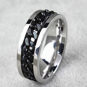 Cool Man Stainless Steel Ring boyfriend gift - New Wolves - unique & trendy stuff