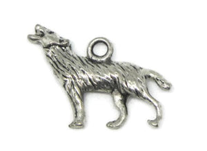 Wolf charm silver - New Wolves - unique & trendy stuff