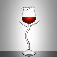 Load image into Gallery viewer, ROSE WINE GLASS (HANDMADE)-Buy 4 Free Shipping
