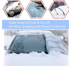 Load image into Gallery viewer, Universal premium windshield snow cover sunshade