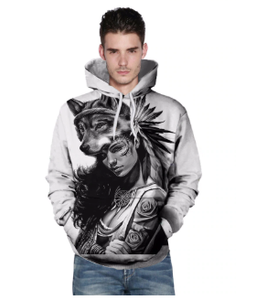 3D wolf Hoodie - New Wolves - unique & trendy stuff