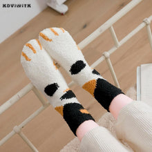 Load image into Gallery viewer, Cute Cat Claw Socks