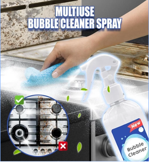 Multi-Use Bubble Cleaner Spray