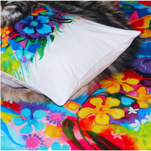Load image into Gallery viewer, Floral Boho Wolf Bedding Set - New Wolves - unique & trendy stuff