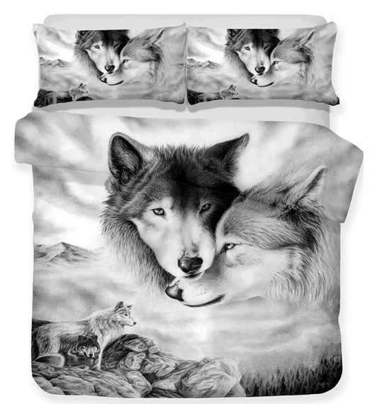Wolves Bedding Set - New Wolves - unique & trendy stuff