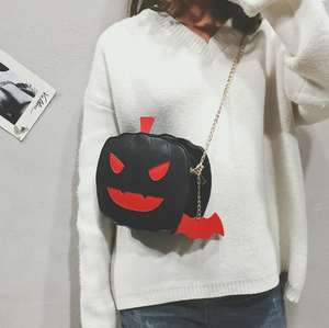 Halloween pumpkin handbag