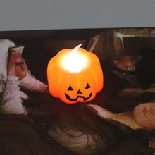 Load image into Gallery viewer, New Pumpkin Candle Lights