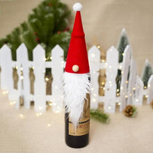 Load image into Gallery viewer, Christmas Wine Bottle Dust Cover