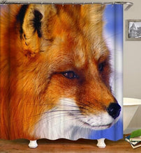 Load image into Gallery viewer, Wolf Bathroom Shower Curtain - New waterproof bathroom curtains