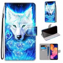 Load image into Gallery viewer, Wolf Flip Phone Cover - For Samsung Galaxy S9 Plus + S8 S7 S6 S5 Girl/Boy Phone Bags