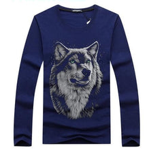 Load image into Gallery viewer, Wolf Shirt Long Sleeved For Man - Size S-5XL - Autumn/Winter - Cotton