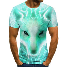 Load image into Gallery viewer, Wolf T-Shirt Short Sleeve - For Boy/girl/kids - Funny Colors