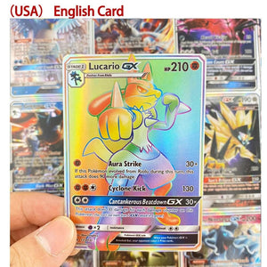 English GX Tag Team Shining TAKARA TOMY Pokemon Cards