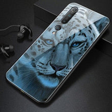 Load image into Gallery viewer, Luxury Tiger, Wolf, Lion Tempered Glass - Phone Case For Xiaomi Mi 10 9 8 Lite SE T Pro F1 Redmi Note 8 7 6 5 Plus