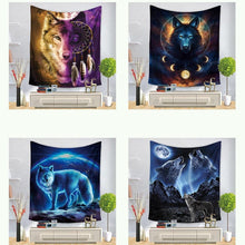 Load image into Gallery viewer, Beautiful Wolf Curtain For Living Room 2020 - Various choice of designs