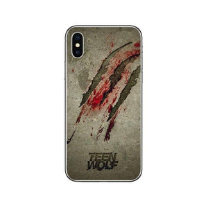 Wolf Cover Case Funda for iPhone 7 8 6 6S Plus 5S SE 11 Pro Max Soft TPU, iPhone X XS MAX XR Coque Capa
