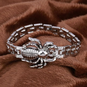 Wolf (and others animals) Stainless Steel Bracelet For Men