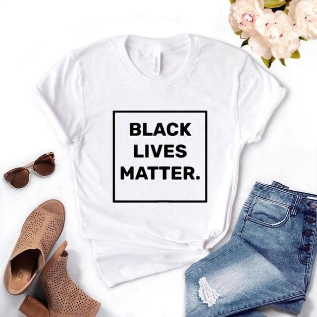 Black Lives Matter Women's T-shirts