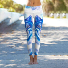 Load image into Gallery viewer, Wolf Leggings, Slim Wolf Pants 2020 - Yoga And Fitness Leggins