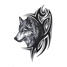 Load image into Gallery viewer, New Beautiful Wolf Waterproof Temporary Tattoo