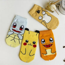 Load image into Gallery viewer, 4 pairs funny socks